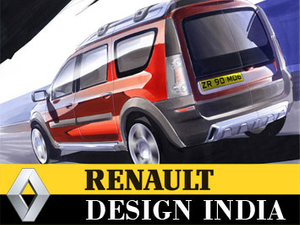 Renault calls creative pitch in India