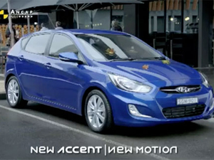 Hyundai Accent's launch campaign focuses on its reverse camera