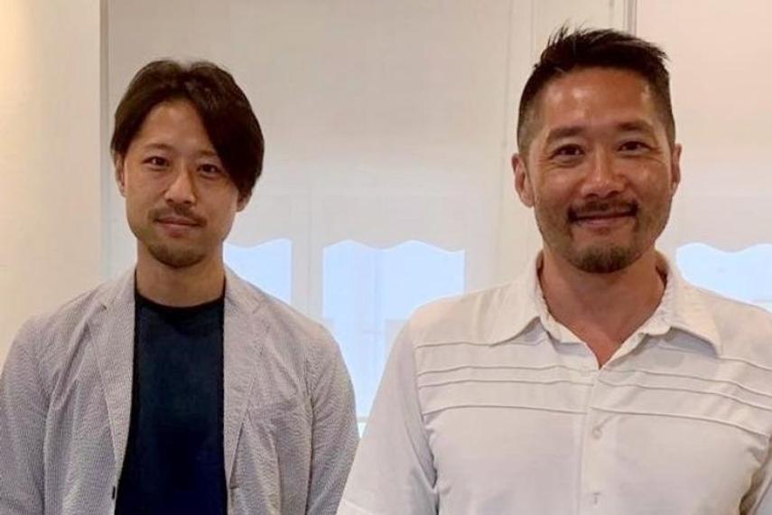 L-R: Takeshi Nishio and Takayuki Osaki, ADK