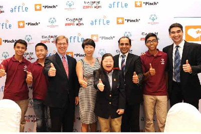 Affle's CSR effort for Special Olympics Singapore