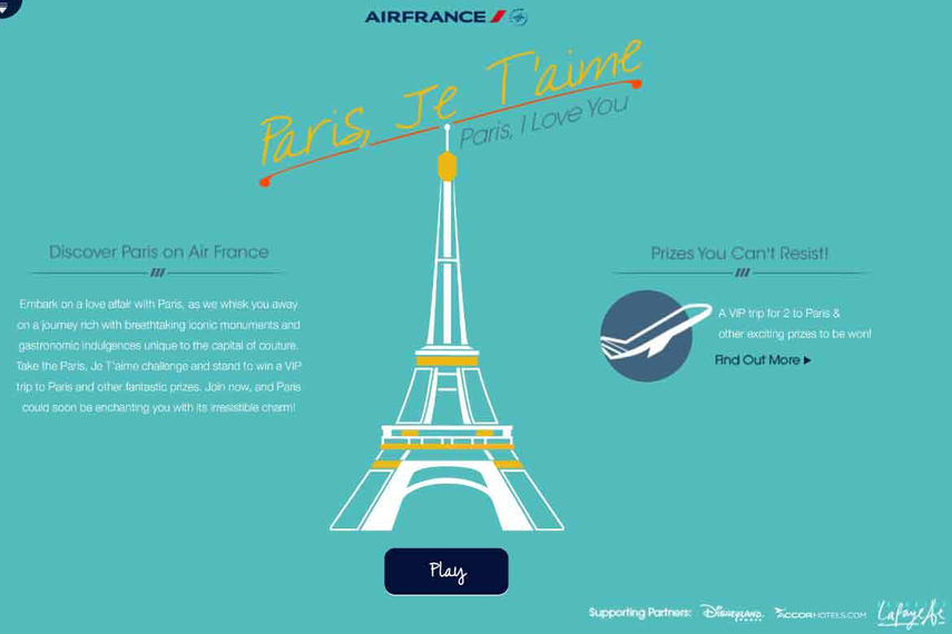 Air France Singapore debuts social-media campaign to reach youth
