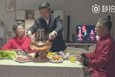 These festive-season ads are actually...festive