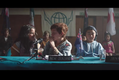 Air New Zealand helps naughty kids make nice