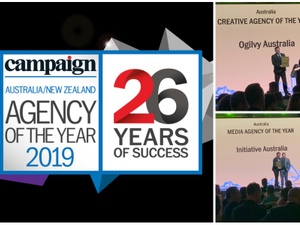 Agency of the Year 2019 winners: Australia / New Zealand