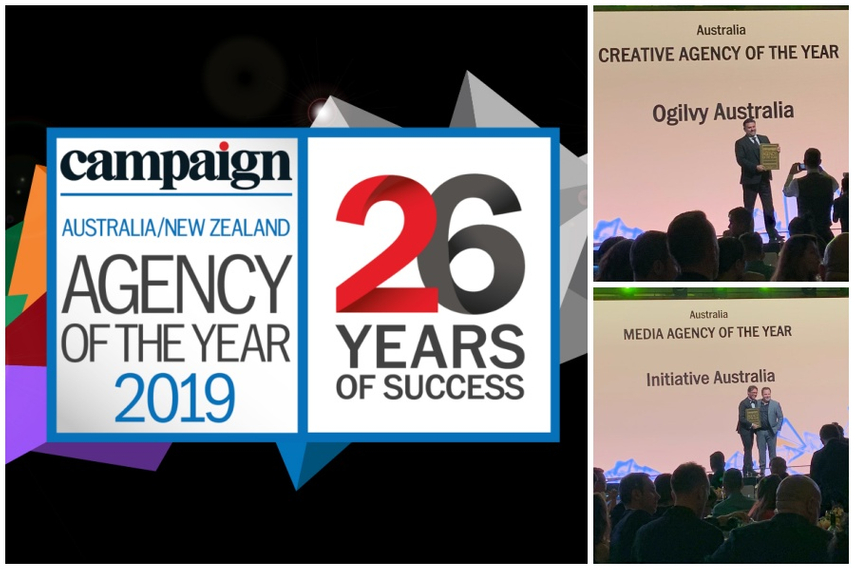 Agency of the Year 2019 winners: Australia / New Zealand