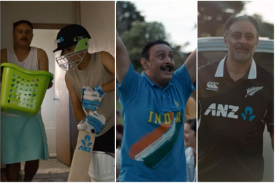 Young cricketer makes dad proud in new ANZ campaign