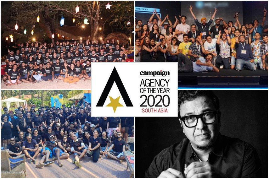 Clockwise from top left: Famous Innovations, Dentsu Webchutney, Raj Kamble, BBDO India (Agency-provided photos)
