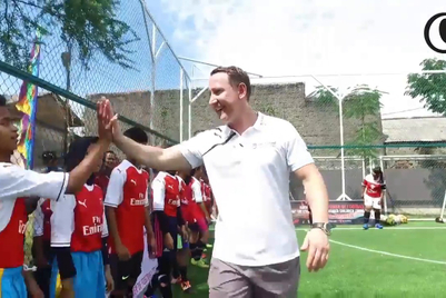 Arsenal hits the pitch with brands in Asia