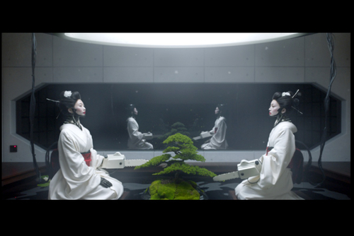 A surreal invitation to drink Asahi Super Dry