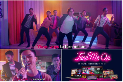 Astro Malaysia rewrites Backstreet Boys hit in mildly suggestive campaign