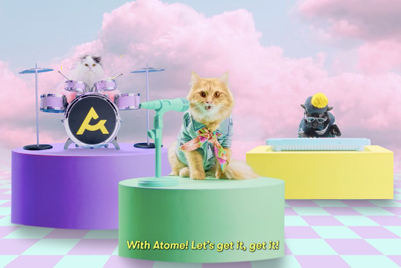 All-kitten band croons about 'ameowzing' deals for Atome