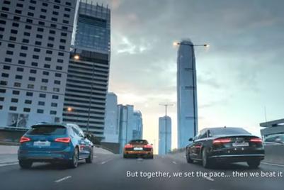 奥迪香港推出第一支本土制作广告