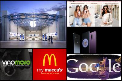 Australia's top mobile-friendly brands