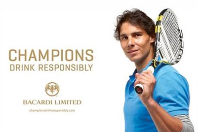 Nadal replaces Schumacher as Bacardi ambassador