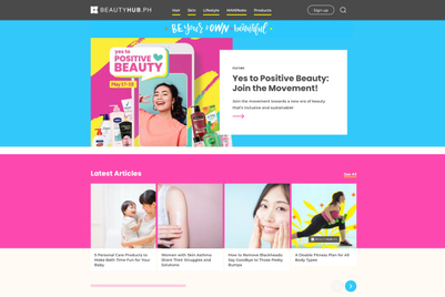 Unilever ramps up Philippines beauty site with Green Park Content