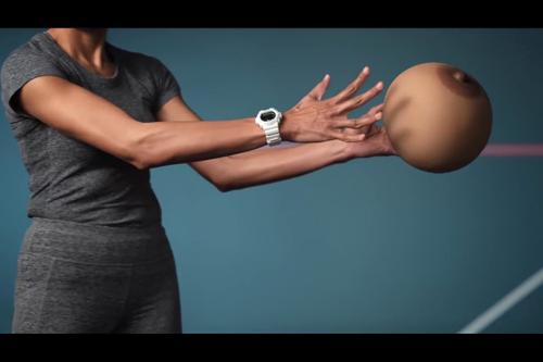 Jiggling, bouncing, um, balls make case for sports bra usage