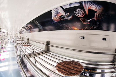 Patties on a train: Student idea becomes Burger King campaign in Seoul
