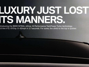 BMW dissed its pitching agencies, and it's not alone