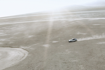 How BMW created UFOs and mystical crop circles in the Gobi Desert