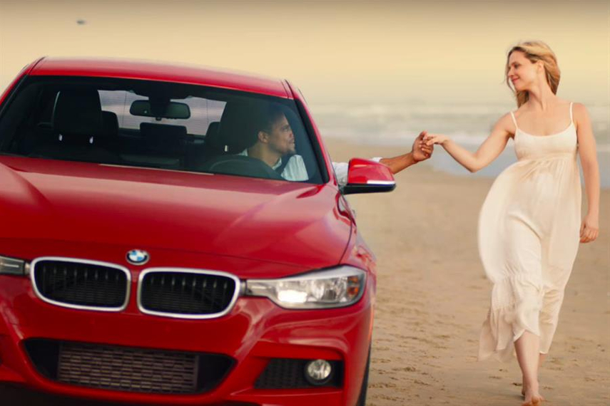 Work from the US: 'You'll Never Want to Stop Driving' for BMW by KBS.