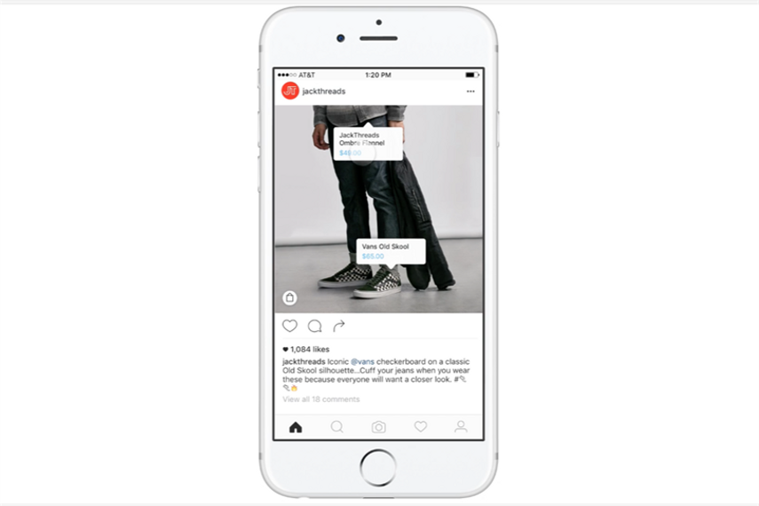 Shopping is coming to Instagram