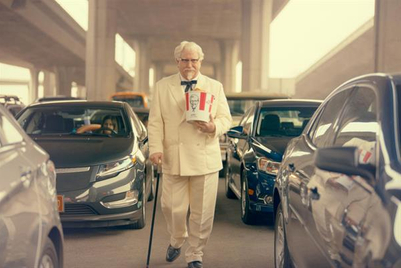 KFC resurrects Colonel Sanders
