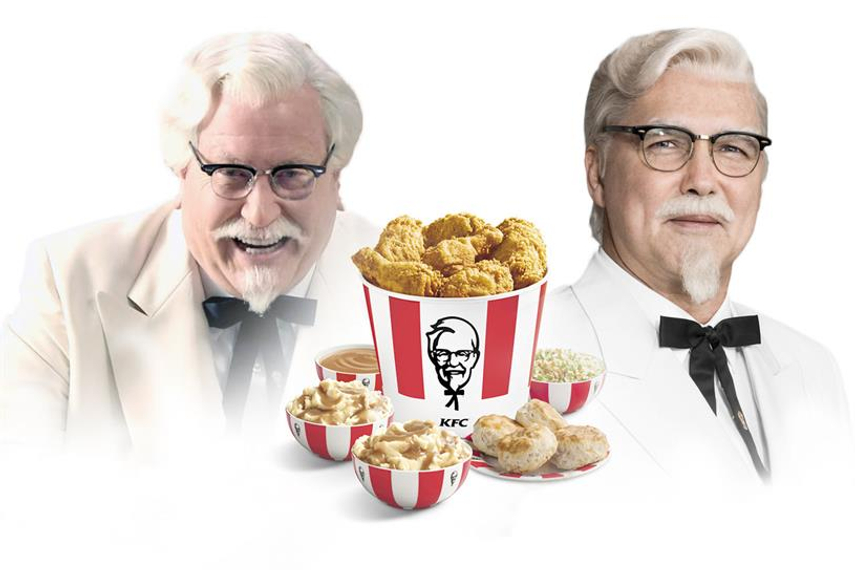 Will the real Colonel Sanders please stand up?