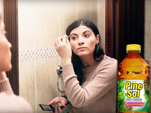 Pine-Sol targets YouTube users with 19 category-specific pre-roll spots