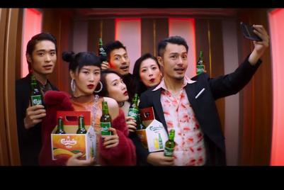 Sliding doors: All aboard Carlsberg's CNY elevator