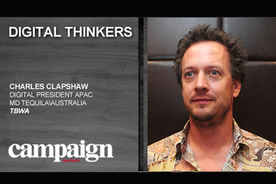 Digital Thinkers: Charles Clapshaw, Tequila Asia-Pacific