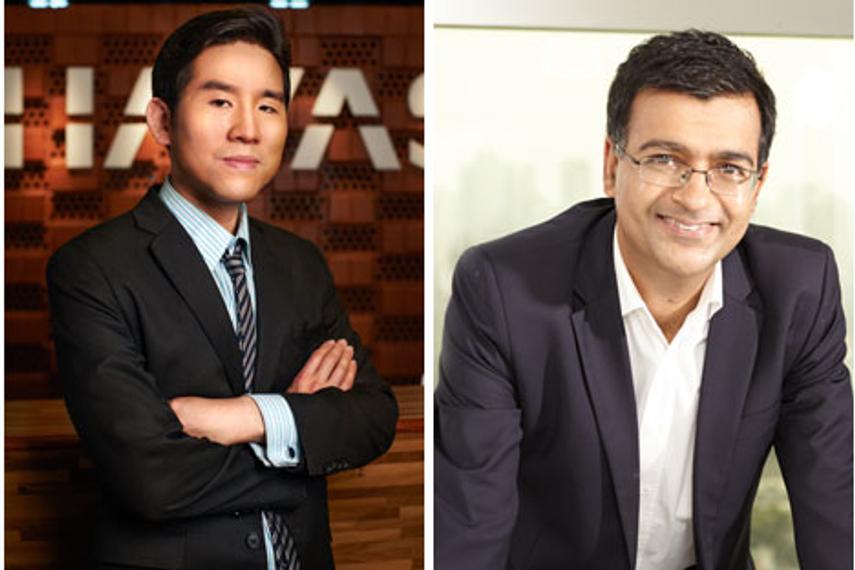 从左至右: Herman Cheng、Vineet Arora