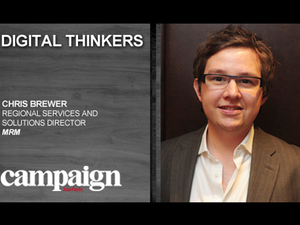 Digital Thinkers: Christopher Brewer, regional marketing performance services and solutions director, MRM