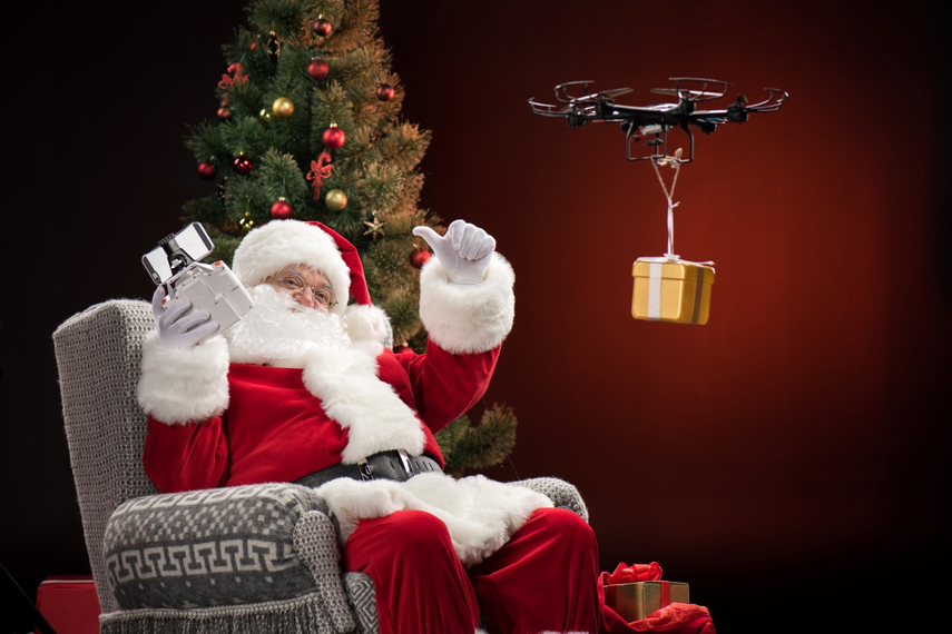 The Christmas drone: A tale of influence triggers