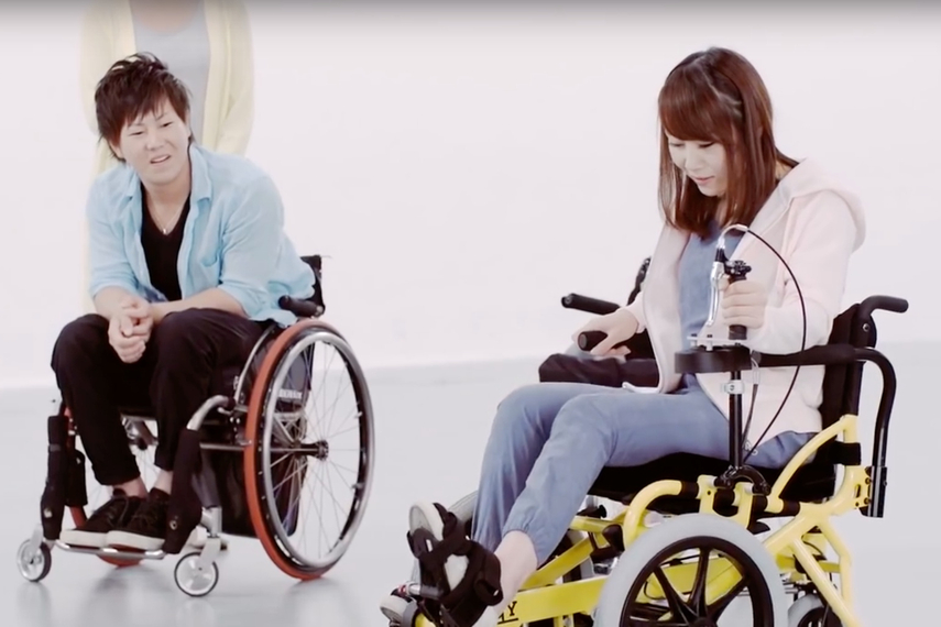 The Cogy Wheelchair won awards in innovation and product design.