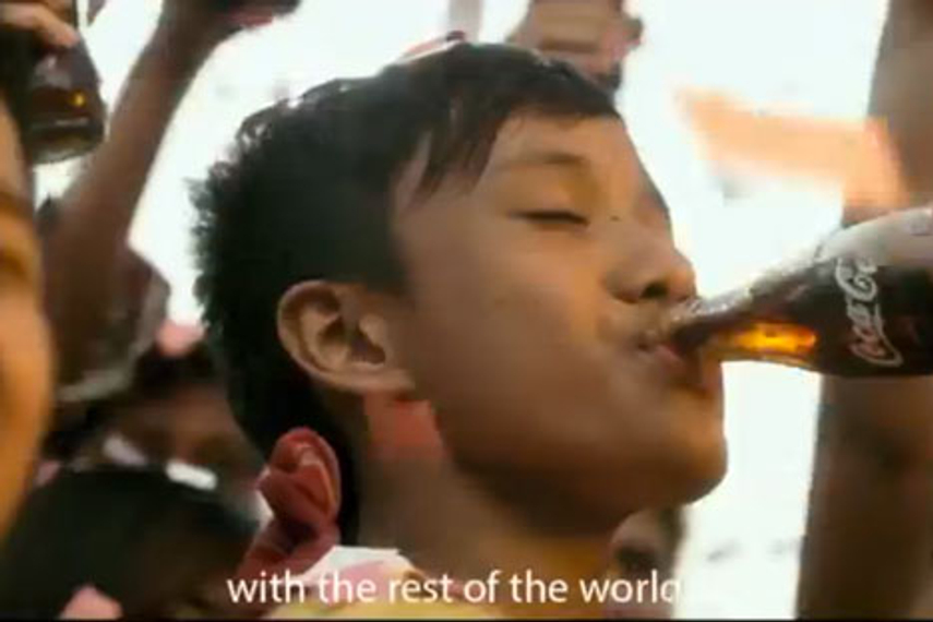 Weekly wrapup: Coke's Myanmar TVC wins in a week without a fail