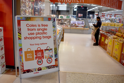 Bag backflip: Coles inexplicably fails to implement its own plastic policy