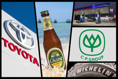 Thailand's top local brands: CP Group, Chang Beer and Singha lead the charge