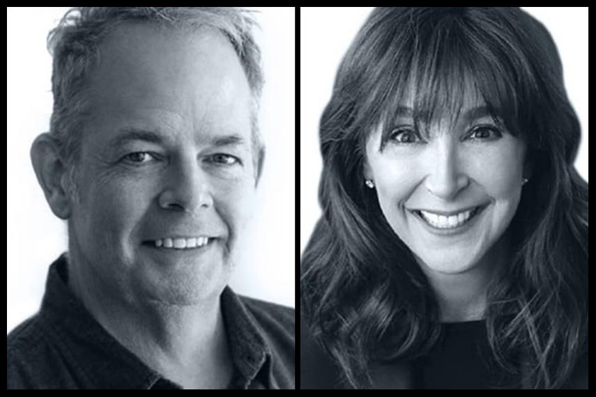 L-R: Ned Crowley, Jennifer Zimmerman