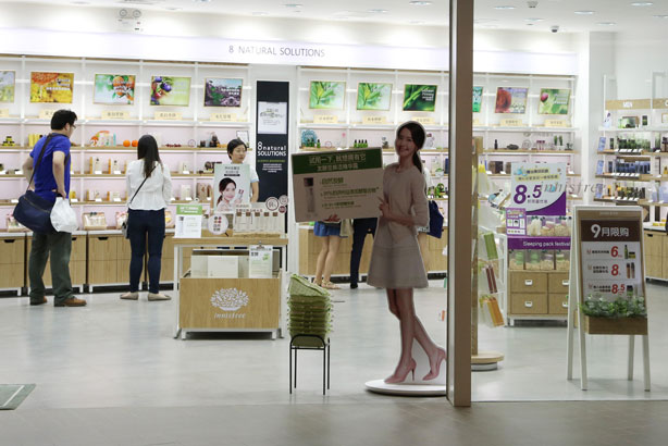 Korean beauty brands ensnare Asia