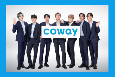 BTS signs as global brand ambassador for Korea's Coway