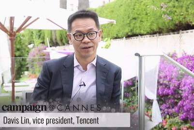 与腾讯合作制作的戛纳视频访问集锦:林璟骅