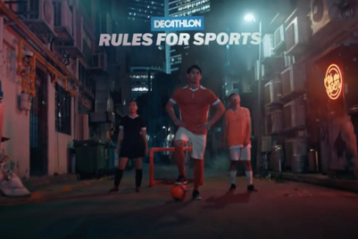 Decathlon encourages Singaporeans to disregard rulebooks