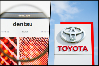 Toyota, Dentsu to launch joint venture focused on automotive marketing