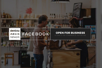 Dentsu partners with Facebook for 'commerce bootcamp'