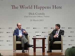 Twitter CEO impressed by Asia's startup culture