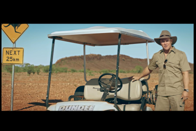 Tourism Australia extends 'Dundee' with an 'on set' video