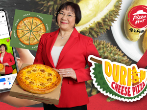 Pizza Hut puts durian on pizza (really)