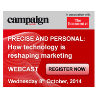 Free Webcast - Precise and personal: How technology is reshaping marketing