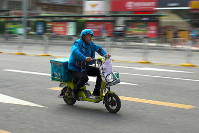 Driven to death? China food-delivery services criticised for pressuring drivers