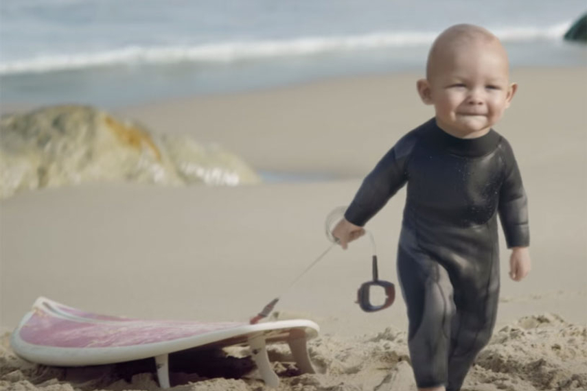 The Evian babies have jumped the shark